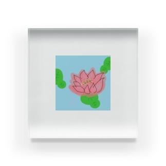 蓮 Acrylic Block