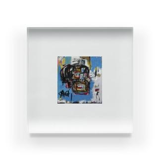 バスキア鬼 Acrylic Block