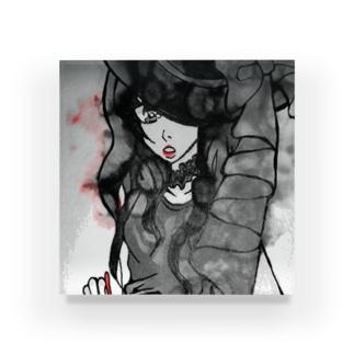 土曜日の魔女(ヘビー加工) Acrylic Block