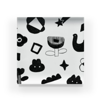 wakuwaku Acrylic Block