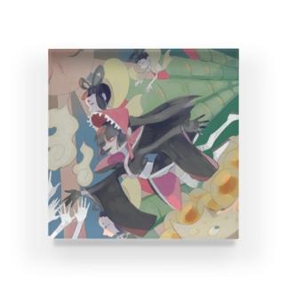 kaguya boy Acrylic Block
