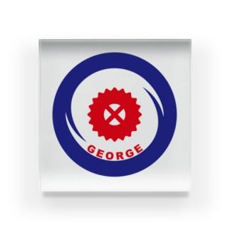パ紋No.3338 GEORGE Acrylic Block