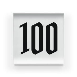 100 Acrylic Block