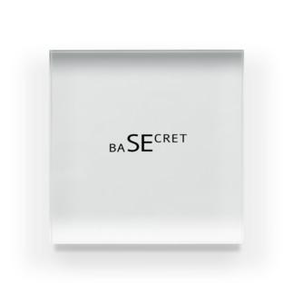 SECRET BASE Acrylic Block