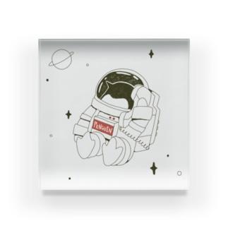 ペンギンコール・うちゅう Acrylic Block