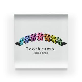 Tooth円陣 Acrylic Block
