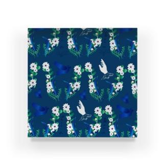 honne  flower パターン 2 Acrylic Block