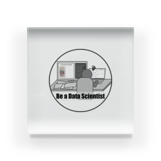 Be a Data Scientist Acrylic Block