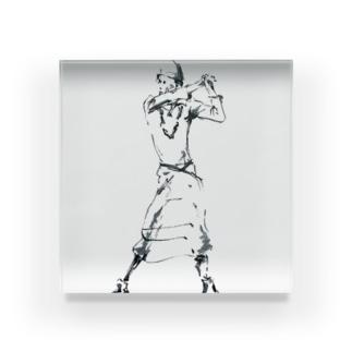 白い踊り子 Acrylic Block