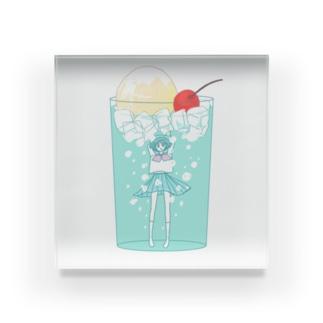 ソーダ・ガール Acrylic Block