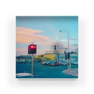 車窓から Acrylic Block
