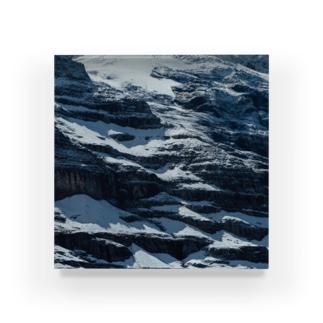 ともまつりかの山 Acrylic Block