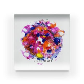 リノフル/ 惑星 Acrylic Block