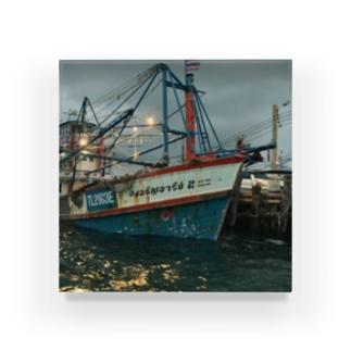 タイの漁船 Acrylic Block