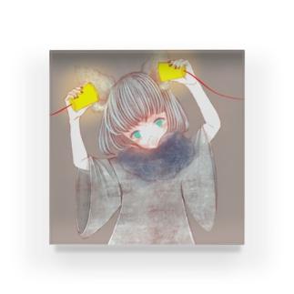 【黒泥小次郎】ん? Acrylic Block