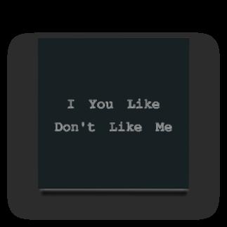 BOOKMARKのI You Like Don't Like Me Acrylic Block