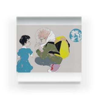 遠距離恋愛 Acrylic Block