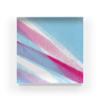色鉛筆ツートン Acrylic Block