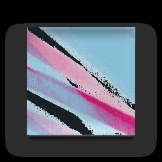 dot_hirataの色鉛筆ツートン Acrylic Block