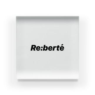 Re:berte' Acrylic Block