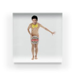 【Tetsureme】安心してくださいテツリーム Acrylic Block