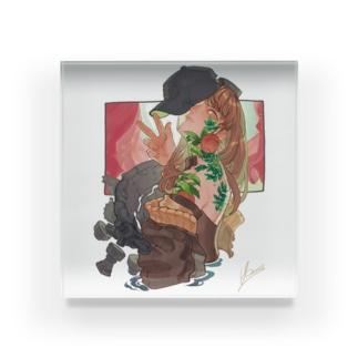 -驚- Acrylic Block