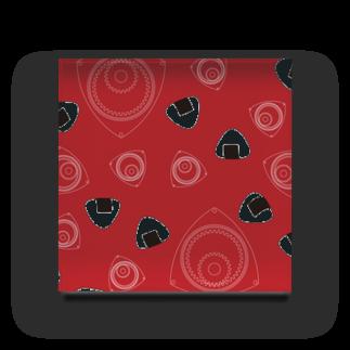 竹脇モータース2号店の回れ焼きおにぎり 赤色 Acrylic Block