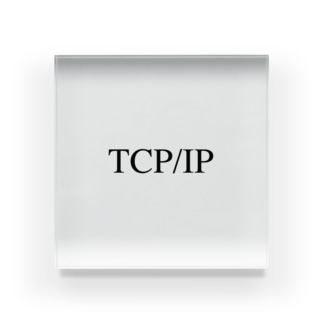 TCP/IP Acrylic Block