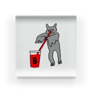 血液型をさりげなく申告(B) Acrylic Block