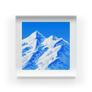 マウンテン Acrylic Block
