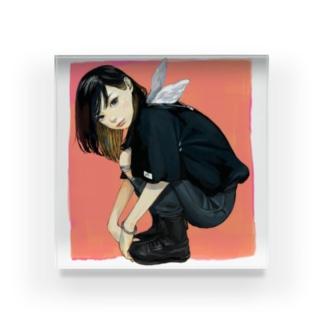わらしのアクリル Acrylic Block