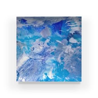だ Acrylic Block