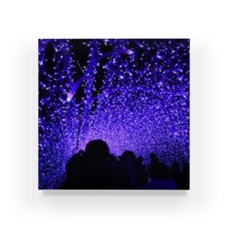 青。 Acrylic Block