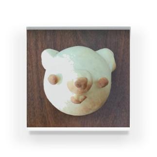 くまちゃんクリームパン Acrylic Block