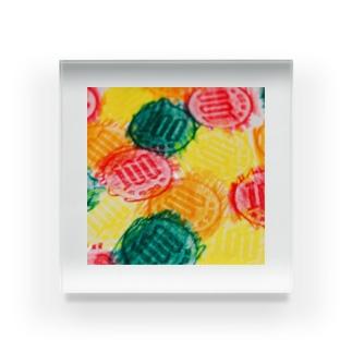 100カラフル Acrylic Block