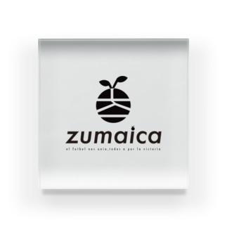 zumaica Black スペイン語 Acrylic Block