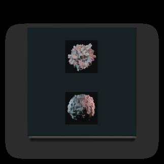 tohのBurning Sphere Acrylic Block