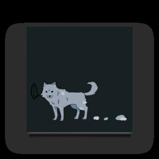 骨犬工房の換毛期の犬 Acrylic Block