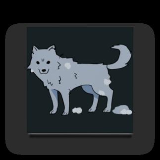 骨犬工房の換毛期の犬ver2 Acrylic Block