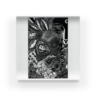 偽態 Acrylic Block