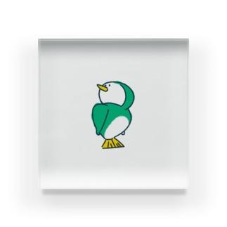 とりペンギン Acrylic Block