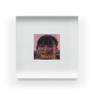 goodmorningぽちゃ Acrylic Block