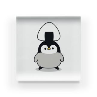 心くばりペンギン / おにぎりver. Acrylic Block