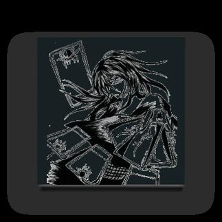 speramistの職業戦士『札士』(黒) Acrylic Block