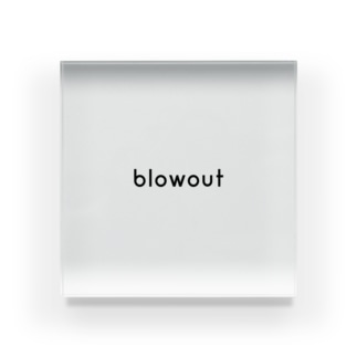 blowout official Acrylic Block