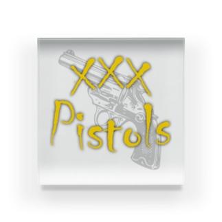 xxxPistols Acrylic Block
