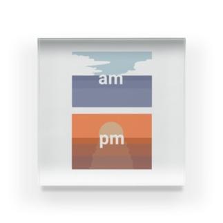 am.pm Acrylic Block