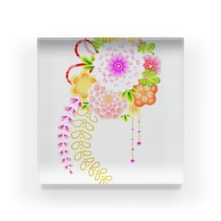花かんざし01 Acrylic Block
