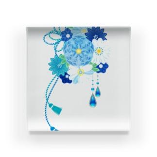 花かんざし03 Acrylic Block