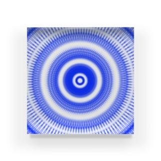 江戸切子風 Acrylic Block